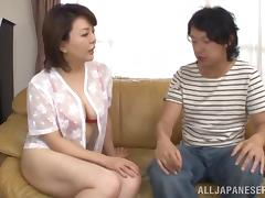 Blowjob, Asian, Blowjob, Couple, Cowgirl, Hairy