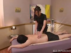 Japanese, Asian, Blowjob, Couple, Cowgirl, Curvy