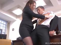 Boss, Adorable, Asian, Blowjob, Boss, Cumshot
