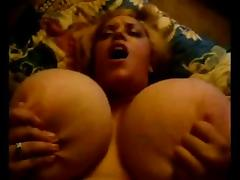 POV BBW tits bouncing.