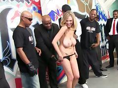 Black Orgy, Banging, Big Tits, Gangbang, Group, Interracial