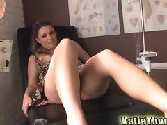 Unbelievable Katie Thomas Goes Wild With A Kinky Doctor