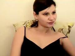 Hot preggo girl in webcam