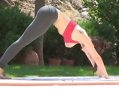Astounding Lyanna Does Naked Yoga In A Solo Model Video tube porn video