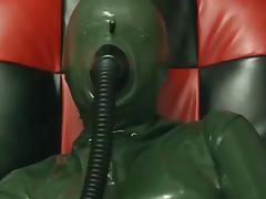 Latex, Femdom, Latex, Rubber, Mask