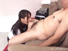 Schoolgirl Yuuki Itano gets nailed at school