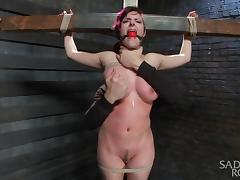 crucified teased and whipped