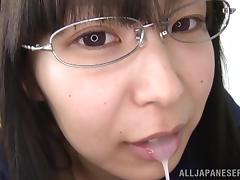 Japanese Teen, 18 19 Teens, Blowjob, Brunette, Cum, Cum in Mouth