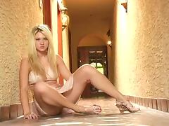 Marvelous Alison Angel Masturbates Sitting On The Floor