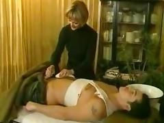 Massage, Amateur, Blowjob, Handjob, Homemade, Massage
