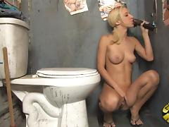 Scrumptious Jada Stevens Masturbates While She Sucks A Big Black Cock