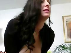 Stockings milf pussy ramming to die for