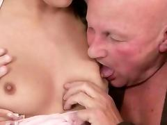Grampas and Young Girls having sex tube porn video