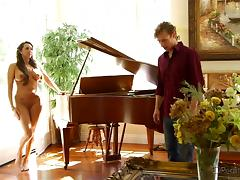 Piano, 18 19 Teens, Classy, College, Kissing, Mature