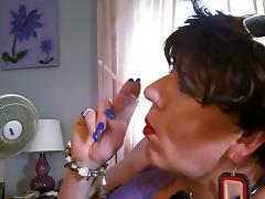 Smoking Close Up porn tube video