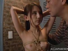 Bound, Asian, BDSM, Blowjob, Bondage, Boobs