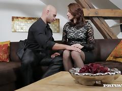 Steamy Victoria Daniels Gets Fucked Hard Over A Couch