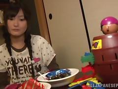 Kaede Koriuchi loves getting hard pounded