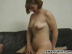Casting, Amateur, Audition, Casting, Couple, Redhead