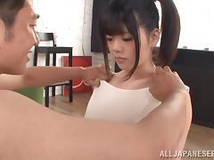 Incredible Aoi Nagase Sucks A Big Cock In A Reality Video