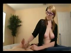 Nice Girl Helping NOT Her Brother To Cum BVR tube porn video