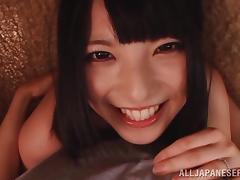 Playful Akane Yoshinaga rides a big dick and gets facialed