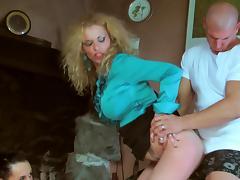 CFNM, Blowjob, CFNM, Pantyhose, Pissing, Pornstar