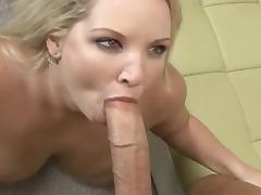Mom, BBW, Big Tits, Blonde, Blowjob, Facial