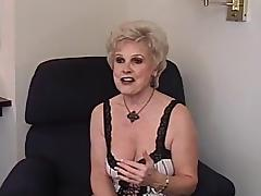 Granny wants to have fun with a chocolate cock