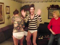 3 girls playing in there nappys tube porn video