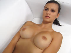 Melons, Amateur, Audition, Big Tits, Boobs, Brunette