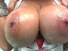 Jonni Darkko fucks face of slutty Alia Janine porn tube video