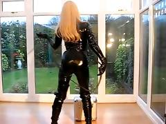 BLACK CATSUIT tube porn video