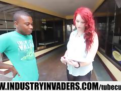 Industry Invaders - Amber Sativa Interracial