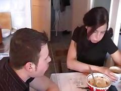 Student, Brunette, Group, Orgy, Party, Russian