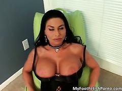 Amazing hot MILF slut with big boobs