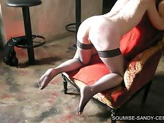 Nasty fisting action in an amateur BDSM scene tube porn video