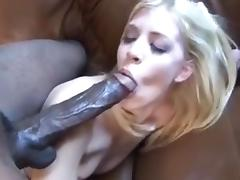 Giant BBC bonks a slim white angel