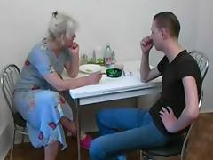 Mom and Boy, Hardcore, Mature, Old, Russian, Older