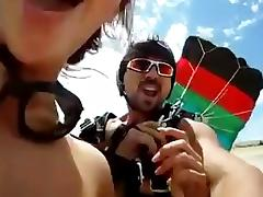 Skydive sex EXTREME