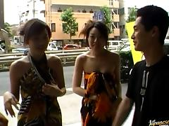 Japanese hot public sex!