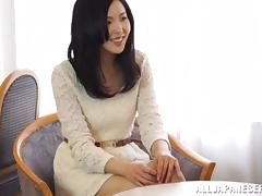 Delightful Japanese doll is getting so sensual