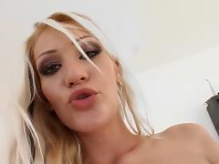Sultry blonde takes a cock I10