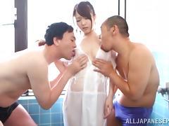 Bath, Asian, Babe, Bath, Bathing, Bathroom