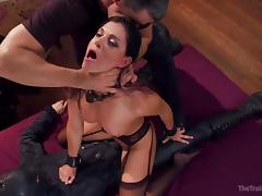 Choking, BDSM, Big Ass, Brunette, Choking, MILF