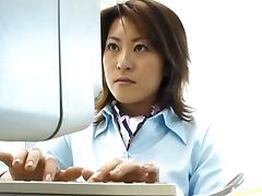 Rina Katsura office fuck!