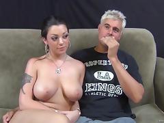 Tattoo, Big Tits, Blowjob, Boobs, Cowgirl, Doggystyle