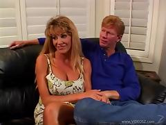 MILF's Husband Watches While She Gets Fucked Hardcore