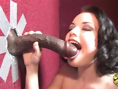 Astounding Tatianna Kush Sucks A Gigantic Black Pole