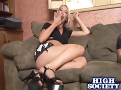 Amy Brooke gives head and enjoys it deep and hard doggy style